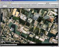 flight tour screen Google earth