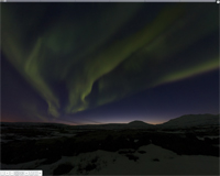 Timelapse  northernlightscreen
