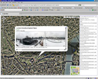 rss gmap screen Google maps