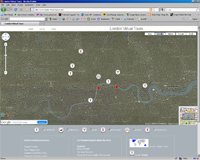 lvt screen Google maps