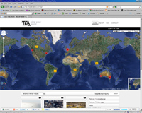 tfa screen Google maps