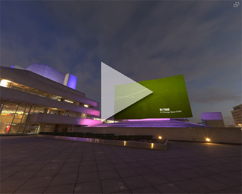 This is an example of embedding video into a panorama