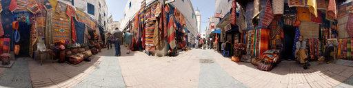 Rugs in Essaouira, Morocco