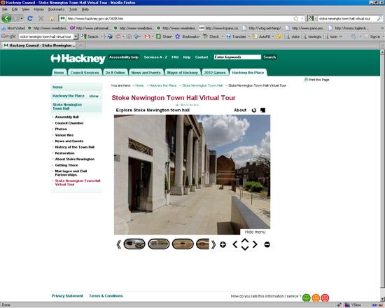 Stoke Newington Town Hall virtual tour