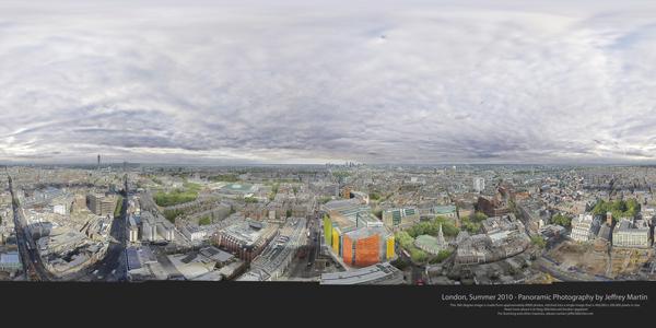 London 80 Gigapixel Panorama