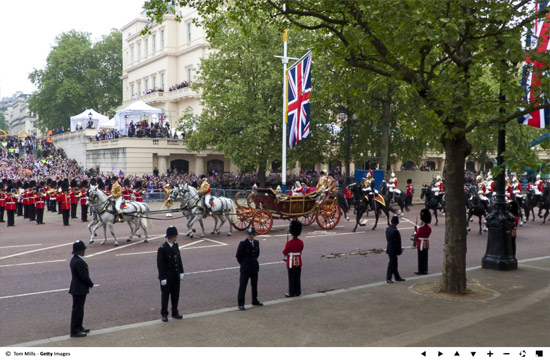 Royal wedding – William and Kate procession