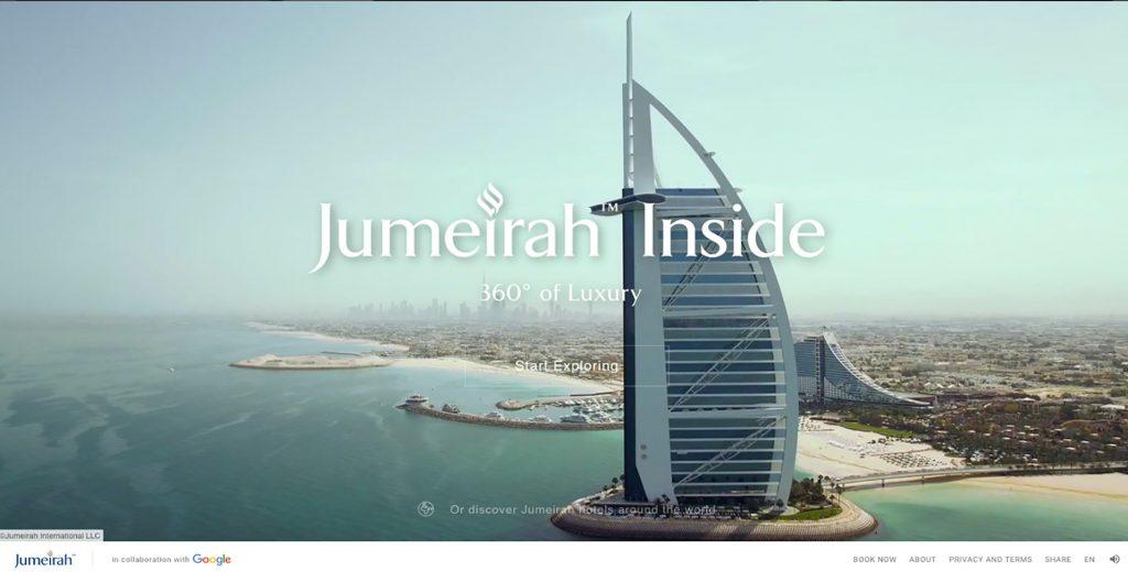 Inside Jumeirah