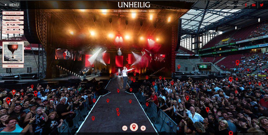 Unheilig Concert Gigapixel Panorama
