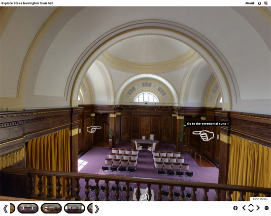 Untitled 41 Stoke Newington Town Hall virtual tour