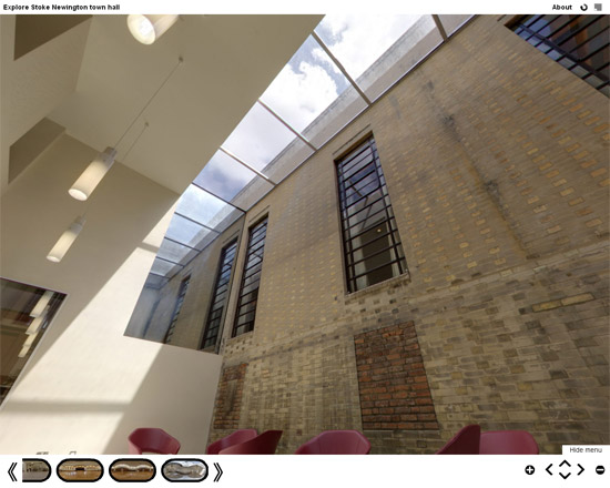 Untitled 51 Stoke Newington Town Hall virtual tour