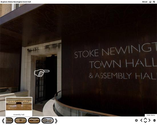 Untitled 6 Stoke Newington Town Hall virtual tour
