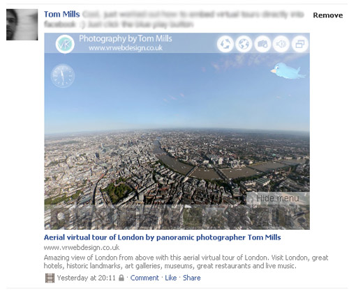 embed facebook 1 Embedding Virtual Tours on Facebook