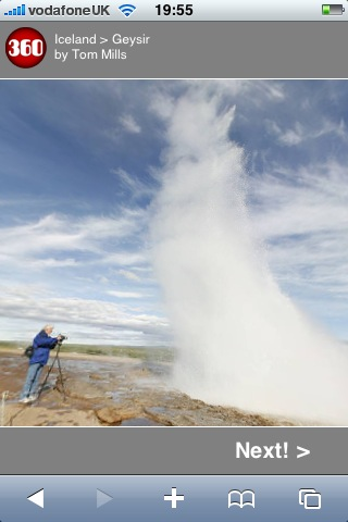 Technology  geysir-iphone