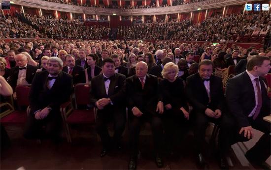 gorbachev1 Mikhail Gorbachevs 80th birthday at the Royal Albert Hall