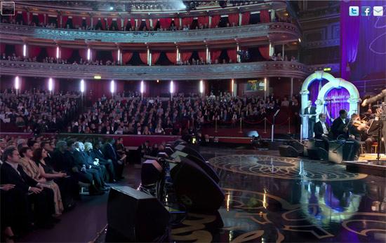 gorbachev2 Mikhail Gorbachevs 80th birthday at the Royal Albert Hall