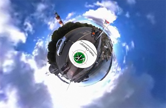 hoe1 Little planet 360 video