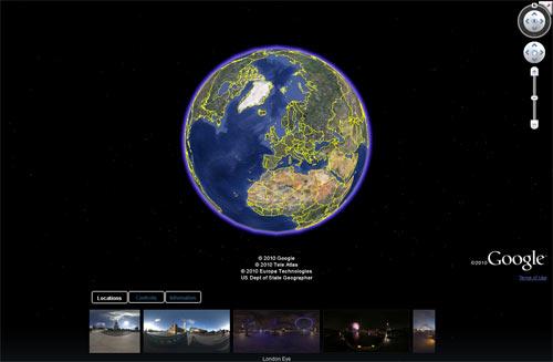 Technology Virtual Tours  london-google-earth11