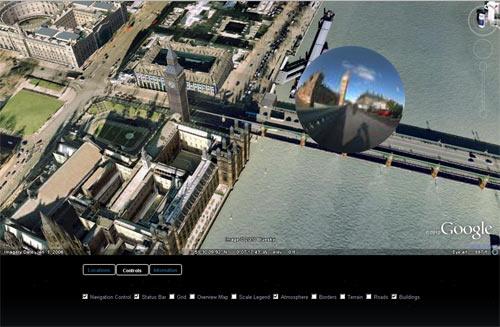 Technology Virtual Tours  london-google-earth2