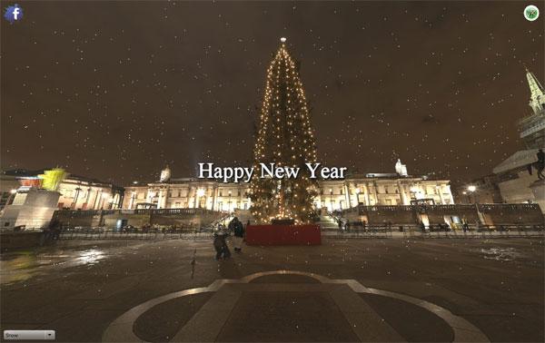 Virtual Tours  merry-xmas-vr-web-design