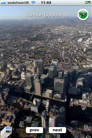 photo8 London Aerial Virtual Tour Now Mobile