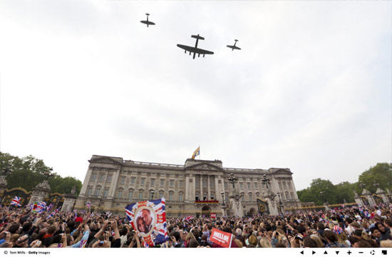 raf flyover RAF Royal Wedding Flyover