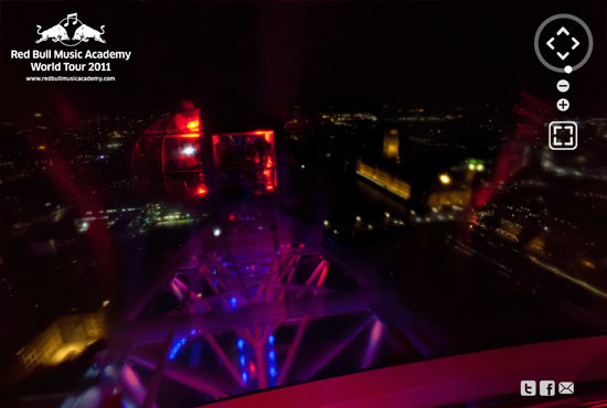 rb 4 Red Bull Revolutions in Sound at the London Eye