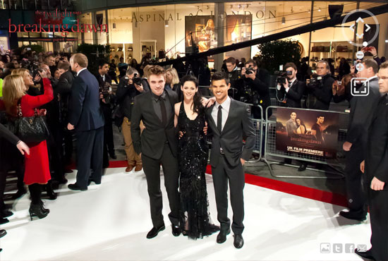 twi 1 Twilight Breaking Dawn Part 1 London Premiere
