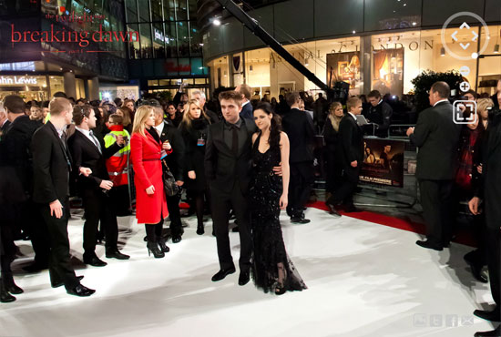 twi 5 Twilight Breaking Dawn Part 1 London Premiere