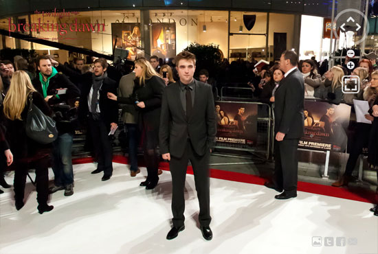 twi 6 Twilight Breaking Dawn Part 1 London Premiere