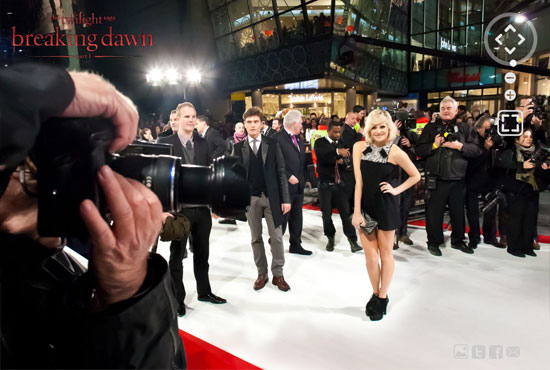 twi 7 Twilight Breaking Dawn Part 1 London Premiere