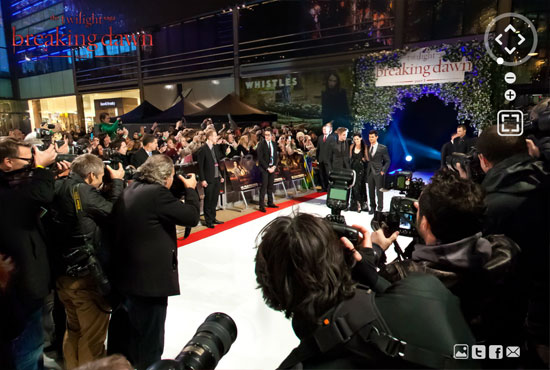 twi 8 Twilight Breaking Dawn Part 1 London Premiere