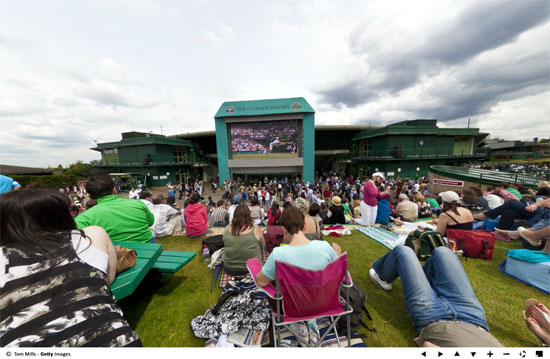 wimbled360 Wimbledon Tennis 2011